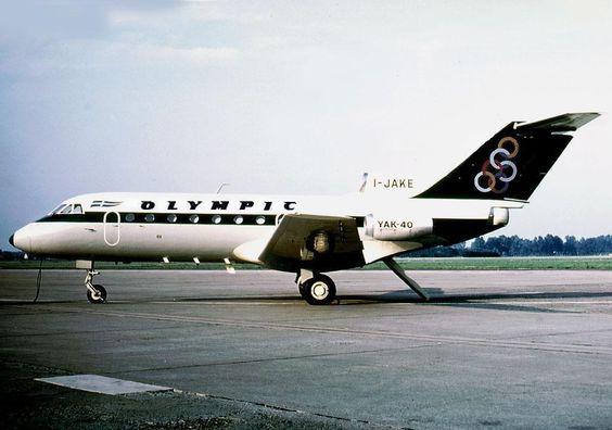 Olympic Airways Yakovlev Yak-40 [I-JAKE]