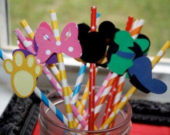 Ensemble de 5 masques fête de Mickey Mouse par KSFeltFaces sur Etsy