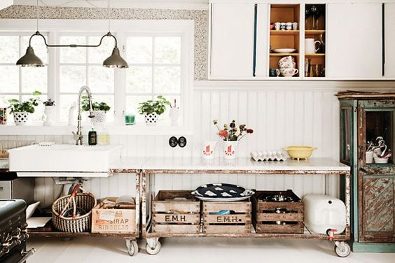 8 Genius Kitchen Organization Ideas via @domainehome: Explore alternatives