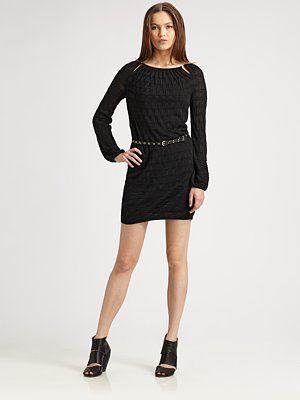 M Missoni - Box-Dot Knit Dress - Saks.com