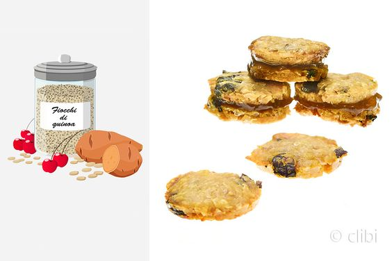 BISCOTTI DI PATATE DOLCI E ARACHIDI Croccanti biscotti arricchiti con ciliegie senza glutine latticini uova e zucchero aggiunto. http://clibi.net/2015/10/02/biscotti-di-patate-dolci-e-arachidi-senza-glutine/