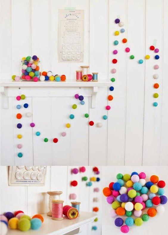 Ideas para decorar con guirnaldas: Â¡muy originales!