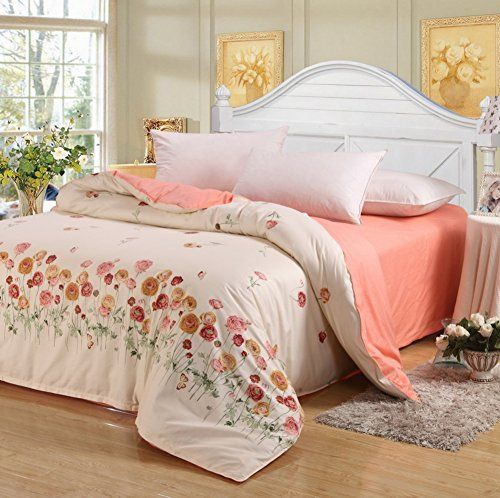 Lj Xj Supple Duvet Cover Elegant Quilt Cover Reversible King Queen