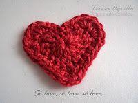 Quer aprender a fazer este coração de crochê?