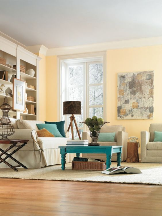 gelbe wandfarbe f rs wohnzimmer wohnzimmer streichen 106 inspirierende ideen janas zimmer
