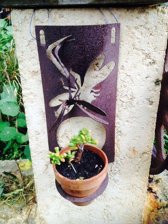 Dragon Fly pot holder