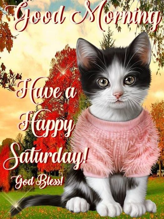 GOOD MORNING: HAVE A HAPPY SATURDAY: GOD BLESS !!!!