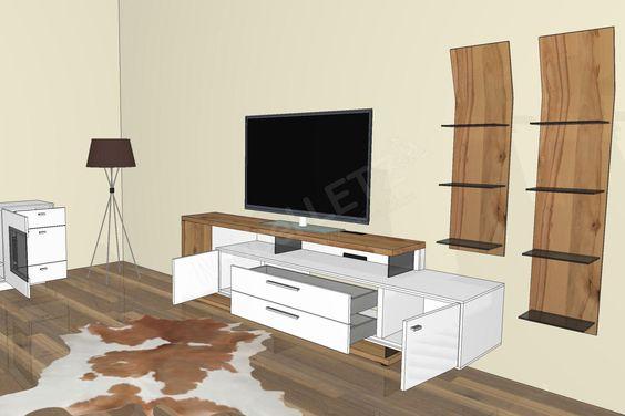 Gwinner Wohnwand Media Concept Mc906 Weiss Wildkernbuche Mobel Letz Ihr Online Shop Gwinner Wohnwand Wohnen Online Mobel