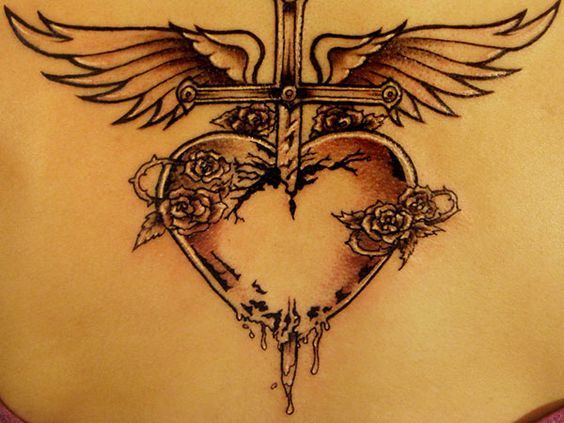 Heart with Angel Wings Tattoo | Angel Heart | Future ink ...
