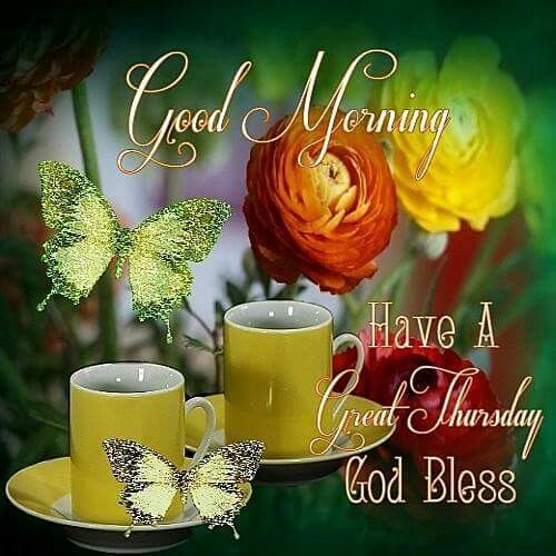 Good Morning Have A Great Thursday,~                              …