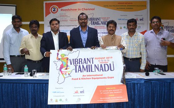 Vibrant Tamilnadu – An International Food & Kitchen Equipments Expo In Madurai