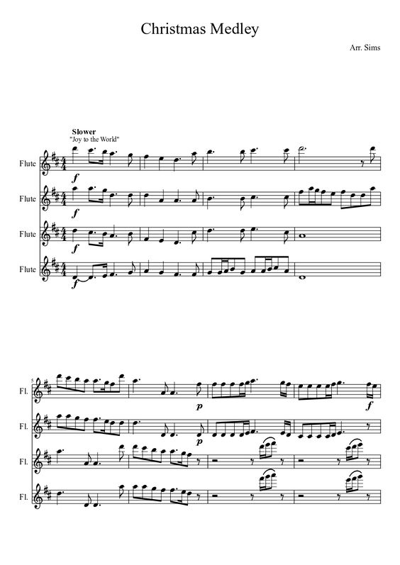 Scores, Sheet music and Flute on Pinterest