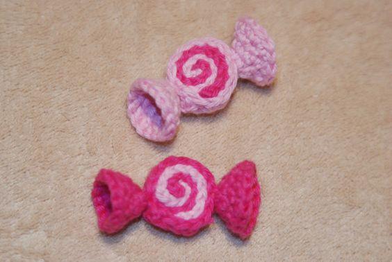♥ Kaufladen Zubehör ♥ Bonbon ♥ Handarbeit ♥ Kaufmannsladen ♥ Deko ♥ rosa ♥