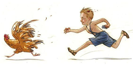 """Raanana"" illustration by Lena Guberman."