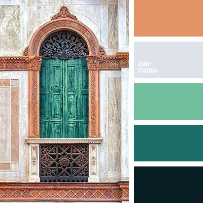 These emerald hues full of different tones will influence