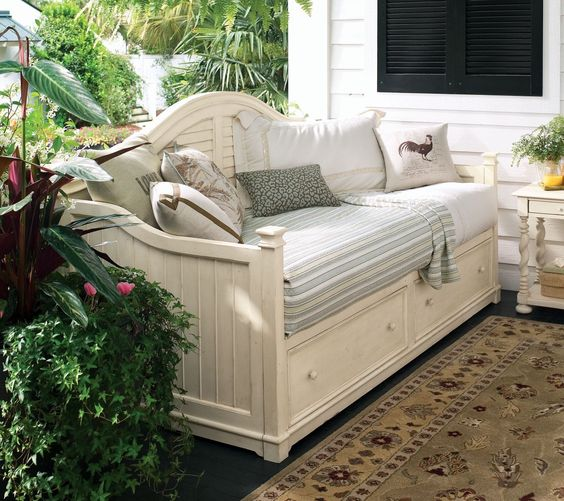 Paula Deen Home Linen Day Bed Storage Day Bed