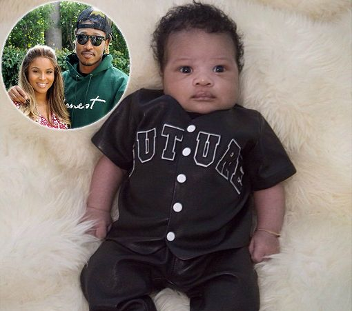 CIARA AND FUTURE'S BABY BOY MAKES HIS DEBUT ON FATHER'S ...