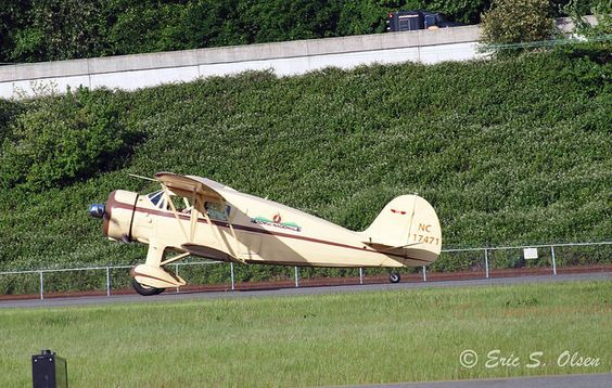 1937 Waco YKS SN-4614 - NC17471 At Boeing Field