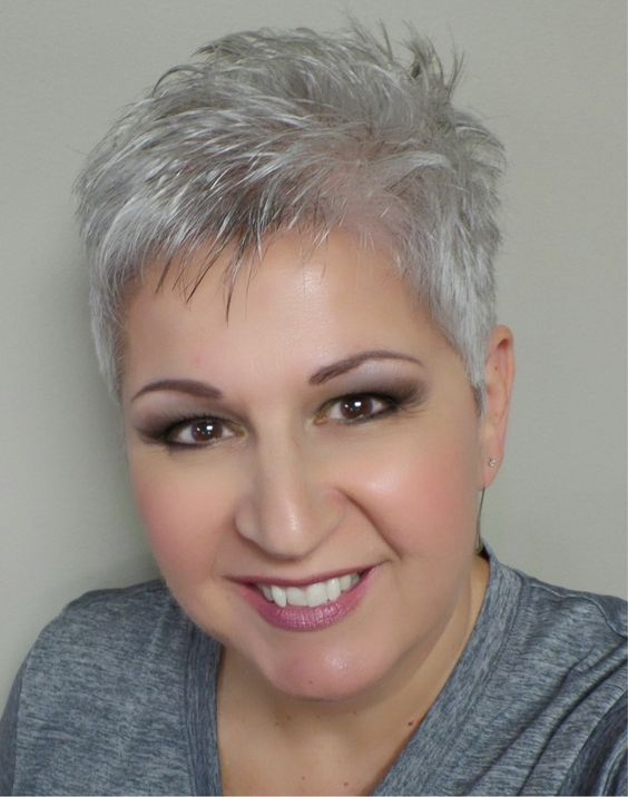 hairstyles for heavy set 50 with gray hair 25 best ideas