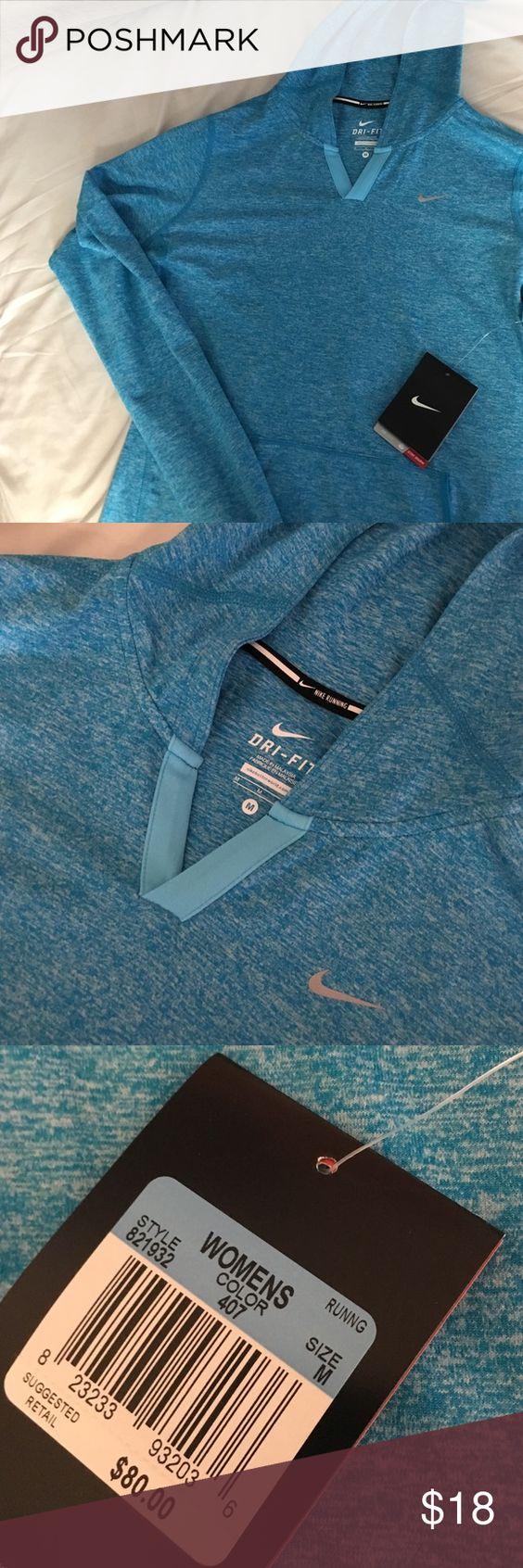 Nike running Hoodie Blue light hoodie for exercise Nike Tops Sweatshirts & Hoodies
