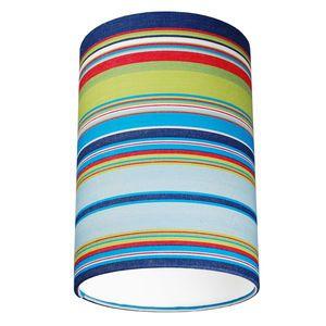 Wembury Multi coloured Deckchair Stripe Lampshade