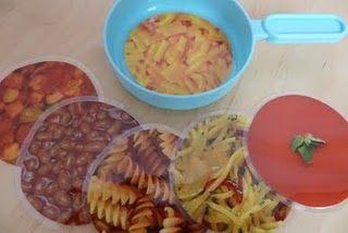 repas plastifié à poser dans la cuisine