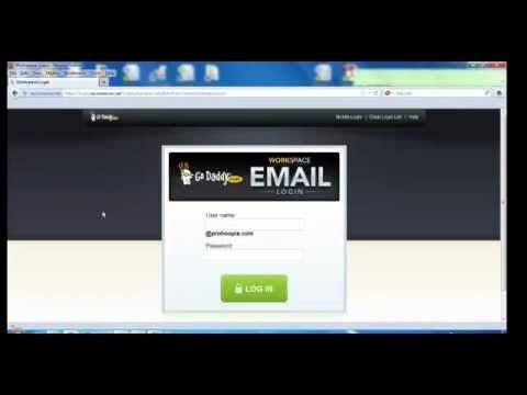 This video (curtosy of http://www.ProHooplaWebDesign.com) teaches How to Use and Access GoDaddy Email; how to get to Godaddy Email Login Page; how to compose...