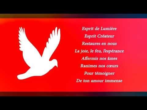 Esprit De Lumiere Esprit Createur Chant De L Emmanuel Sylioxx Lyrics Youtube Esprit De Lumiere Chant Chants De Noel