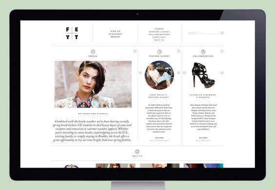 Feyt 01 / creative direction Roanne Adams (Studio RoAndCo). / Lotta Nieminen. via September Industry #web #identity