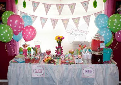 A Pocket Full Of Buttons: Sweet Shoppe 7th Birthday Party
