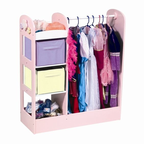Girls Dress Up Clothes Trunk Photos  Playroom/Family Room ...