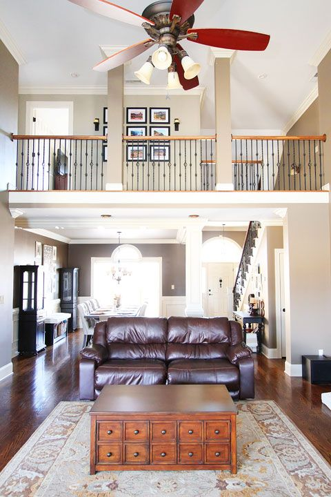 New house tour travel gallery wall house tours for Houses with upstairs living