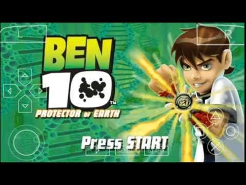 Ben 10 Psp Gameplay Youtube With Images Alphabet Song For