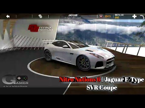 Nitro Nations 6 Jaguar F Type Svr Coupe Tuning Youtube Nitro Nation Jaguar F Type Jaguar