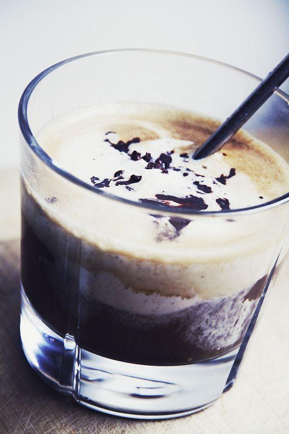 Lyxig kaffedrink