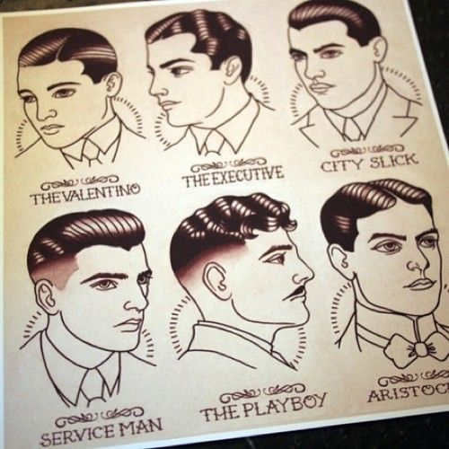 Pin By Cat Grayson On For Anj 1920s Mens Hair Hair Guide 1920s Mens Fashion