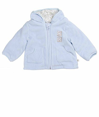 KANZ Baby BabyGirls Newborn Fleece Jacket Dress Blue 18 Months ...