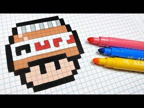 Hello Pixel Art Youtube En 2020 Dibujos En Cuadricula Dibujos