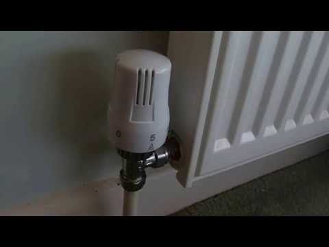 How To Fix A Thermostatic Radiator Valve If Your Radiator Is Not Heating Up Youtube Radiator Valves Radiators Valve