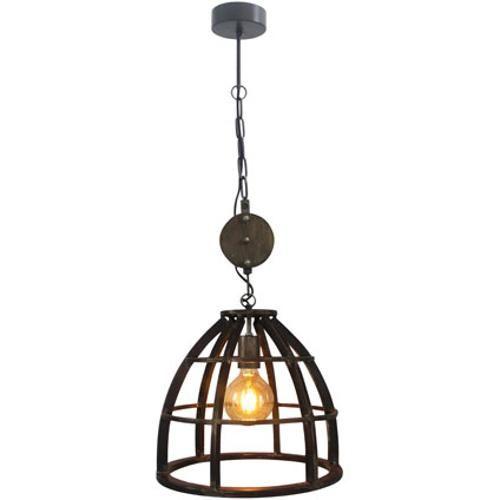 Brilliant Hanglamp Matrix Zwart 60w Hanglamp Lampen Industriele Hanglampen