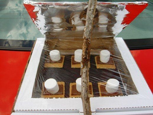 solar smores project fun way to teach kids about energy