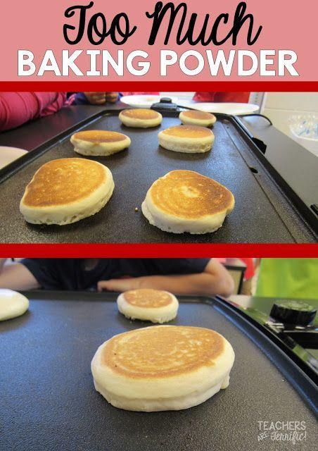 too much baking powder