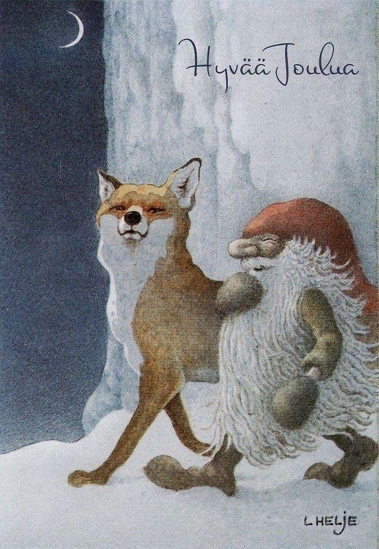 "Lennart Helje, ""Fox and Gnome""."