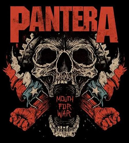 Pantera - classic rock poster ☮~ღ~*~*✿⊱╮ レ o √ 乇 !!