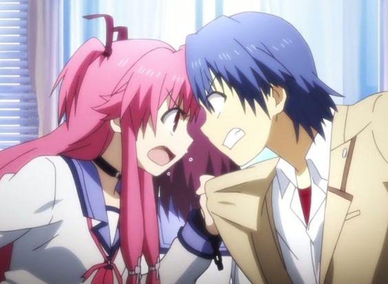 Yui And Hinata Angel Beats Angel Beats! - Yui &am...