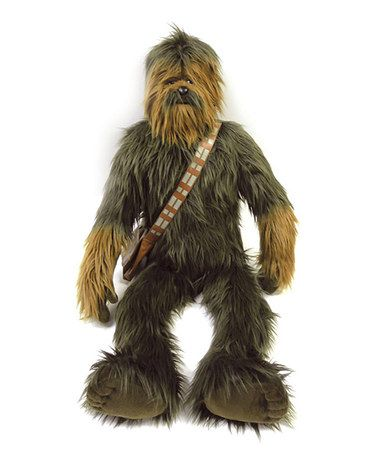 Another great find on #zulily! 37'' Chewbacca Plush Toy #zulilyfinds