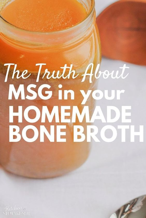MSG is awful stuff, but it's naturally derived. Is the glutamic acid in meat and homemade soup and stock just as bad?