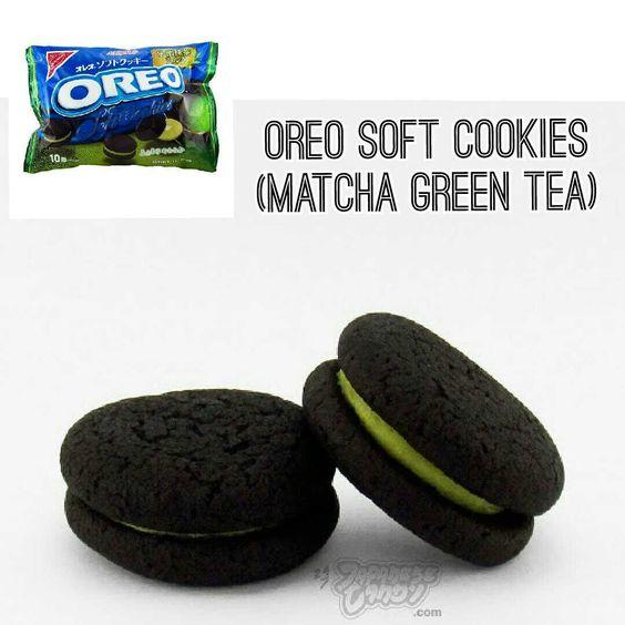 Oreo Soft Cookies (Matcha Green Tea)