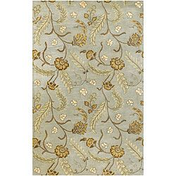 @Overstock - Update your home decor with this eye-catching transitional area rug Beautifully styled wool rug features highlights in brown, tan and sage Hand-tufted Mandara rug features elegant floral patternshttp://www.overstock.com/Home-Garden/Hand-tufted-Transitional-Mandara-Area-Rug-79-x-106/3351813/product.html?CID=214117 $400.99