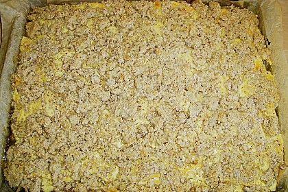 Apfel - Nuss - Streusel mit Quarkcreme (Rezept mit Bild) | Chefkoch.de